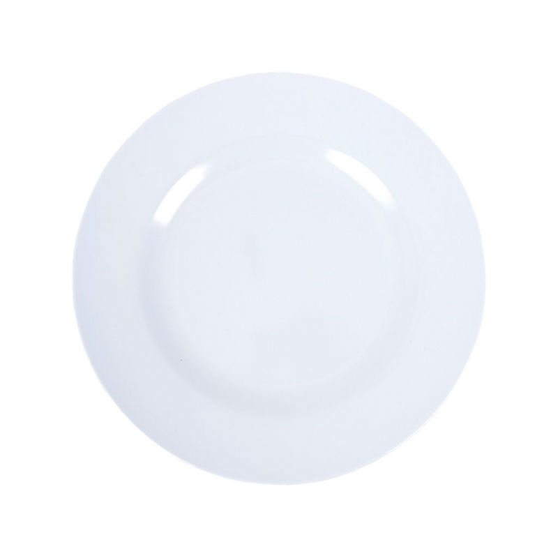 pale blue melamine side plate by rice dk pinks green
