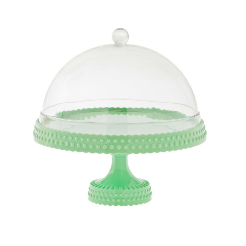 Plastic Cake Stand With Lid
