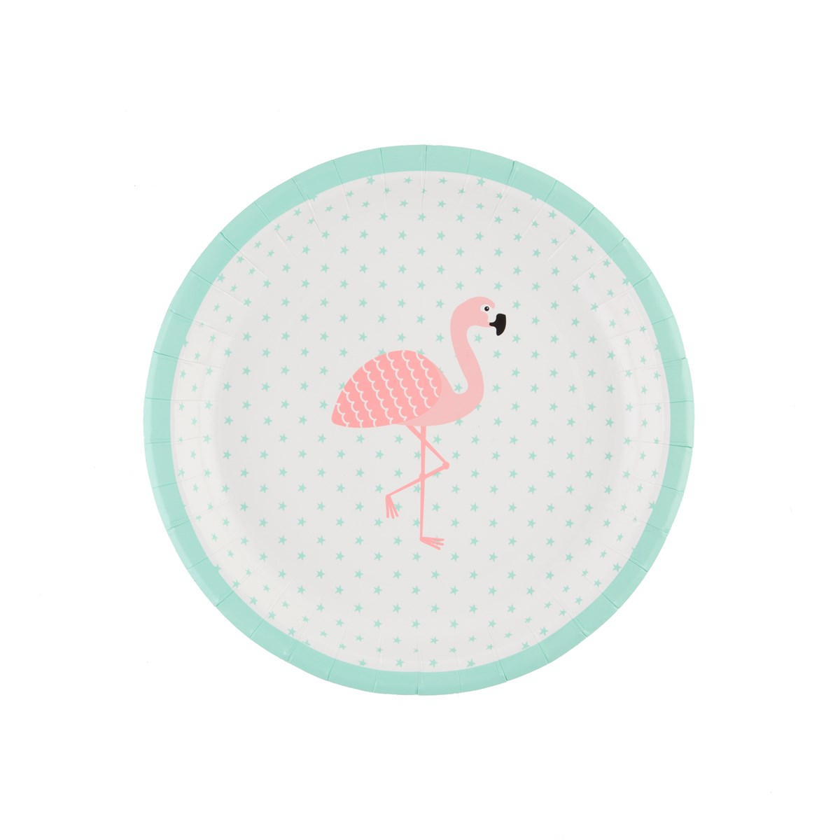 Flamingo Print Paper Plate Set By Sass Amp Belle Pinks