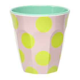 in bloom spot print cup