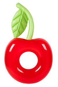 45dd797223d Giant Inflatable Float - Cherry Ring - By Sunnylife - Pinks   Green