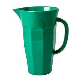 large green melamine jug