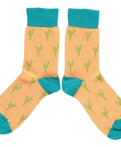 268e8a068370 Toucan Design Cotton Socks - By Catherine Tough - Pinks   Green